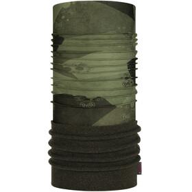 Buff Scaldacollo tubolare in pile Bambino, verde/nero